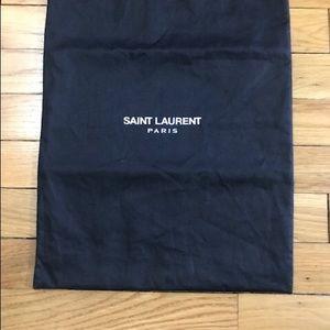 Saint Lauren handbag dust bag